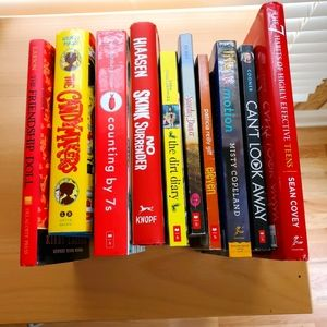 Young Adult Teen Books 2 for $6 or 4 for $10